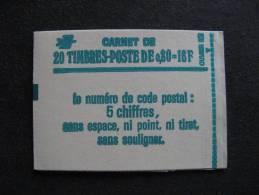 TB Carnet 1970 C1a ,  Neuf XX. - Booklets