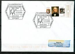 """Germany 2005 Sonderbeleg,Postal Cover Chemie M. Mi. Nr.2337 U.SST""""Ludwigshafen-Stadt Der Chemie,Stiftungswettbewe""""1Beleg - Chemie"""