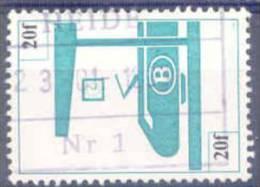 F041 -België Spoorwegen  Chemin De Fer   TR456  Stempel   HEIDE - 1952-....