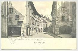 Annecy (74) - Ste Anne Et Maison Favre - Circulé En 1908 - Annecy