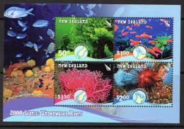 New Zealand 2008 Coral Reefs MS, MNH (A) - Nuova Zelanda