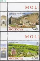 MOLDOVA, 2012, Europa-CEPT 2012 - Tourism, Set Of 2, MNH (**), Sc/Mi 748-49 / 793-94 - Europa-CEPT
