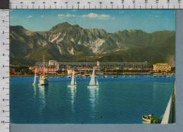 R8110 MARINA DI CARRARA IL PORTO E SULLO SFONDO ALPI APUANE VG - Carrara