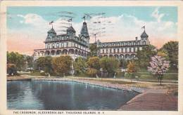 New York Thousand Island The Crossmon Alexandria Bay 1928