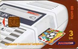 Malte : Maltacom 60 Units 3 Lm : Residential Commercial Cardphone - Téléphones