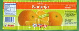 63-URUGUAY-2012- Jugo De Naranja Tienda Inglesa- 1 Lt. - Other