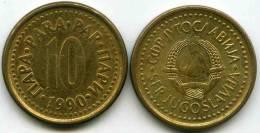 Yougoslavie Yugoslavia 10 Para 1990 KM 139 - Jugoslavia