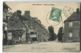 76 FOUCARMONT Route De Blangy 1925 Café - France