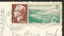MONACO Port Et Monte Carlo 1951 - Monaco