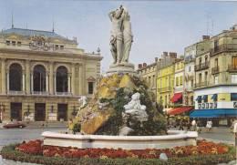 Cp , 34 , MONTPELLIER , Place De La Comédie - Montpellier