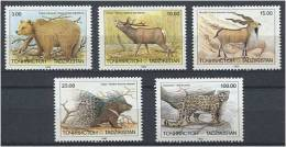 TADJIKISTAN 1983 - Protection De La Faune - Serie Neuve Sans Charniere (Yvert 12/16) - Tadjikistan