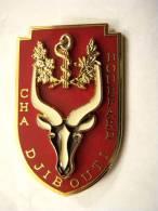INSIGNE HOPITAL MILITAIRE CHA BOUFFARD DJIBOUTI ETAT EXCELLENT