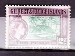Gilbert & Ellice Islands, SG 66, 1956-62, MNH - Isole Gilbert Ed Ellice (...-1979)