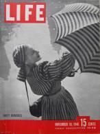 Magazine LIFE - NOVEMBER 18  , 1946   -     (2979) - Nouvelles/ Affaires Courantes