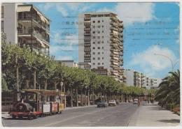 Salou- James I Walk: TRACTOR TOURIST TRAIN, FORD CAPRI, SIMCA 1100, RENAULT 4-COMBI -  Auto / Car - Spain - PKW