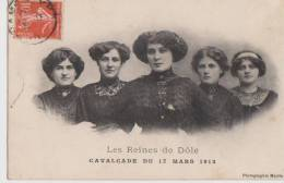 Dole Les Reines Cavalcade Du 17 Mars 1912 JURA 39 - Dole