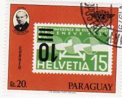 P - Paraguay - Francobollo Su Francobollo - Rowland Hill
