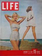 Magazine LIFE - JANUARY 13 , 1947      (2983) - Nouvelles/ Affaires Courantes