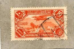 GRAND LIBAN (République) : Avion Survolant Kadicha - Paysage - - Gross-Libanon (1924-1945)