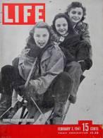 Magazine LIFE - FEBUARY 3 , 1947       (2985) - Nouvelles/ Affaires Courantes