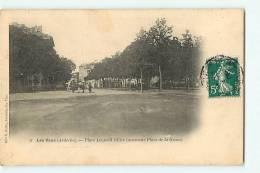 LES VANS -  Place Ollier Ancienne Place De La Grave - RARE - Edition Vve Pellet - 2 Scans - Les Vans