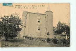 LES VANS - Ses Environs - Château De La Tour , Temple De La Santé  -  Edition Brunel -  2  Scans - Les Vans