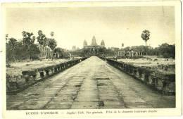 Ruines D'Angkor - Angkor-Vath, Vue Générale