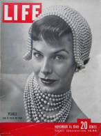 Magazine LIFE - NOVEMBER 14  , 1949        (2988) - Nouvelles/ Affaires Courantes