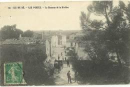 LES PORTES.  Le Hameau De La Rivière. - Ile De Ré