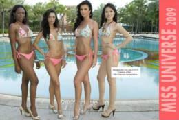 (NZ38-056 )    Miss Universe Miss World  Monde, Postal Stationery-Entier Postal-Ganzsache-Postwaar Destuk - Timbres