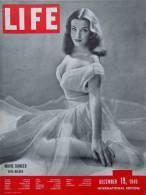 Magazine LIFE - DECEMBER 19 , 1949   - INTERNATIONAL EDITION -        (2989) - Nouvelles/ Affaires Courantes