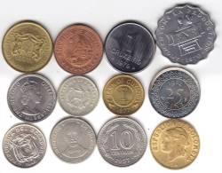 @Y@   Lot Wereldmunten / Worldcoins  See Scan   (W3AB) - Brasilien