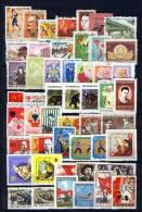 Vietnam North Nord 1966 - 1985, Lot Of 96 Used Stamps (o), 2 Scans - Viêt-Nam