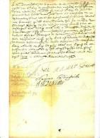 DE NAMUR - LETTRE DE 1714 -  SIGNATURE DE NAMUR  - A VOIR - Manuscrits