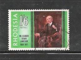 RHODESIA 1967 Used Stamp(s) L.S. Jameson 61 - Rhodesia (1964-1980)