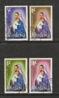 RHODESIA 1977 Christmas Zegels Used# 459 - Rhodesia (1964-1980)