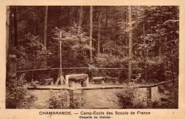 Chamarande Camp école Des Scouts Chapelle Du Dolmen - France