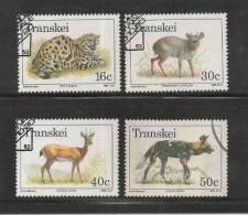 TRANSKEI 1988 CTO Stamp(s) Endangered Animals 226-229 #3429 - Stamps
