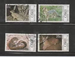CISKEI 1982 CTO Stamp(s)  Small Animals 30-33 #3324 - Stamps
