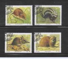 BOP 1990 CTO Stamp(s) Wild Animals 235-238 - Game