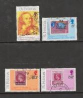 ST.HELENA 1979 CTO Stamps Sir Rowland Hill 317-320 #2938 - Saint Helena Island