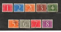 Ned 1946 Cijfers Zegels Used 460-468 #398 - Period 1891-1948 (Wilhelmina)