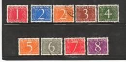 Ned 1946 Cijfer Zegels Serie Used 460-468 #213 - Period 1891-1948 (Wilhelmina)
