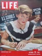 Magazine LIFE - OCTOBER 23 ,  1950 -  INTERNATIONAL EDITION -         (2992) - Nouvelles/ Affaires Courantes