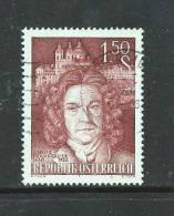 AUSTRIA 1960 Used Stamp(s) Jacob Prandtauer Nr. 1079 - 1945-.... 2nd Republic