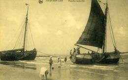 HEYST - HEIST  :    Les Bateaux De Pêche - Heist