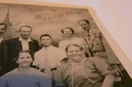 Photo Ancienne De Famille Souvenir De Bonsecours Prés De Rouen 76 Seine Maritime Décor De Studio - Antiche (ante 1900)