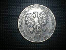 Polonia 10 Zloty 1967 Koperniko (4850) - Polonia