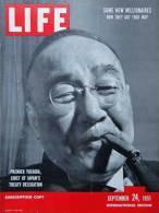 Magazine LIFE - SEPTEMBER 24 , 1951 - INTERNATIONAL EDITION -            (2995) - Nouvelles/ Affaires Courantes