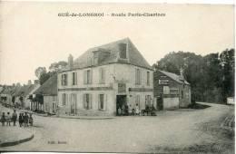Cpa  28  Gué-de-Longroi        Route Paris-Chartres